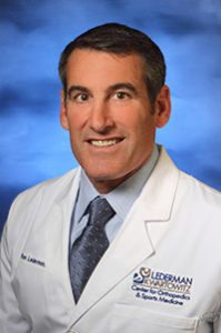 Dr. Ronald Lederman - Board-Certified Orthopedic Surgeon